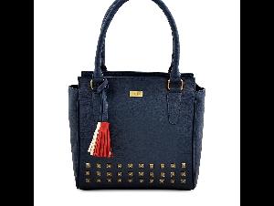 yelloe Blue Embellished Shoulder Bag